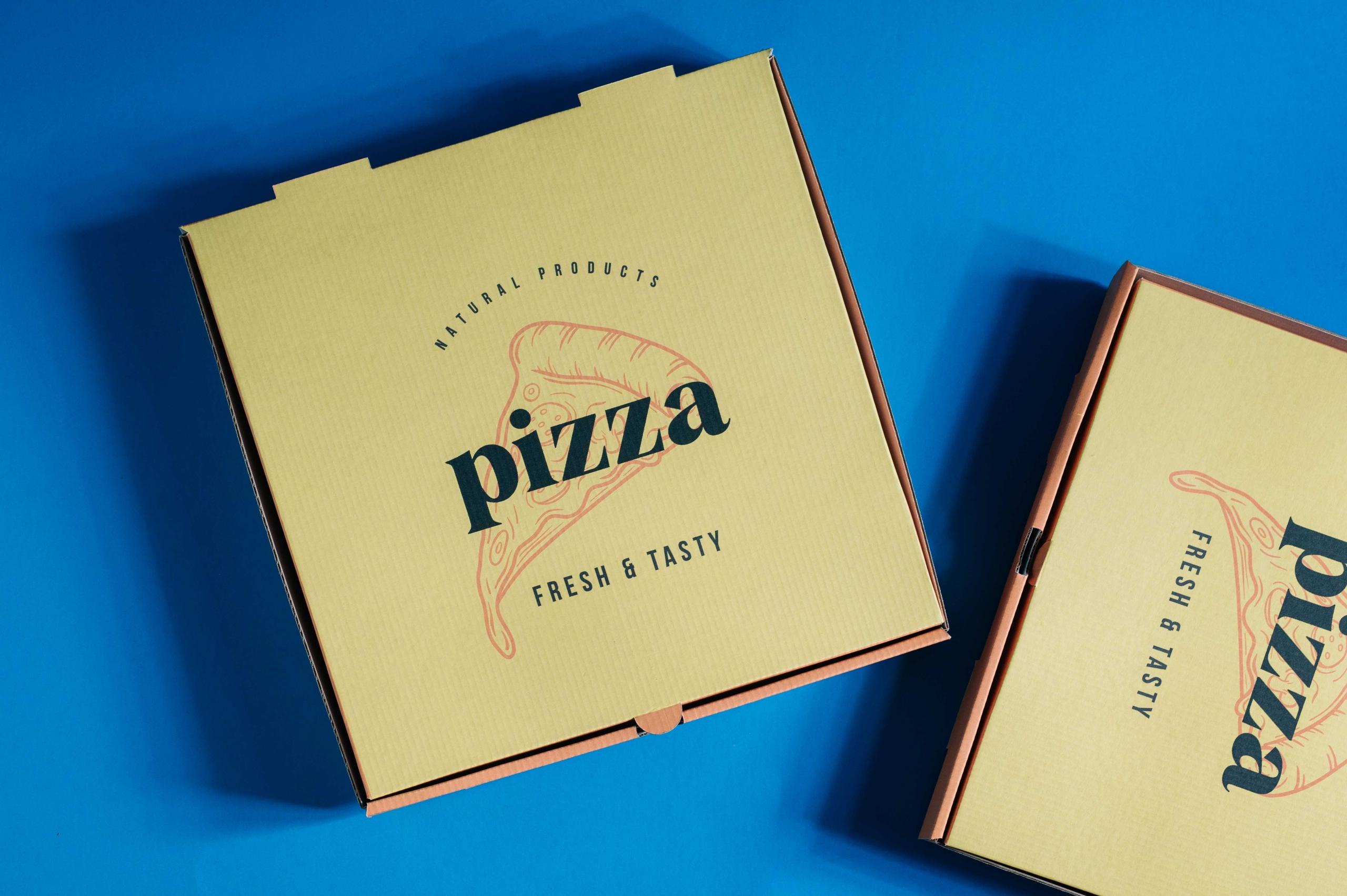 Digital Pizza Box