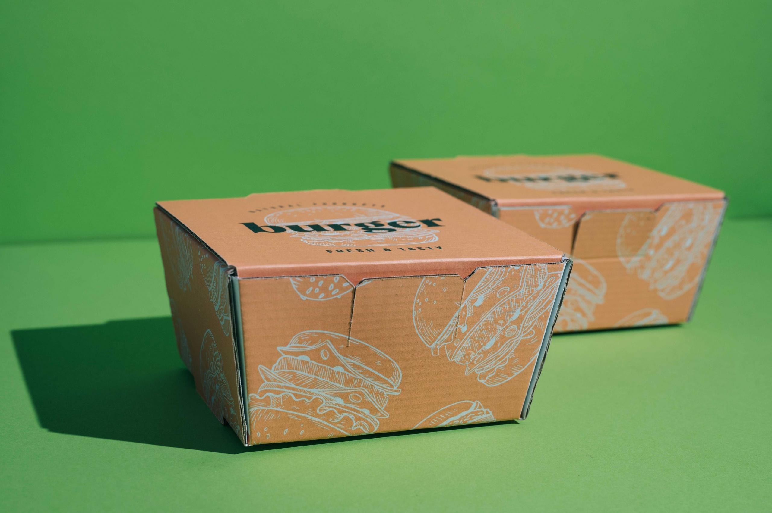 Digital Burger Box