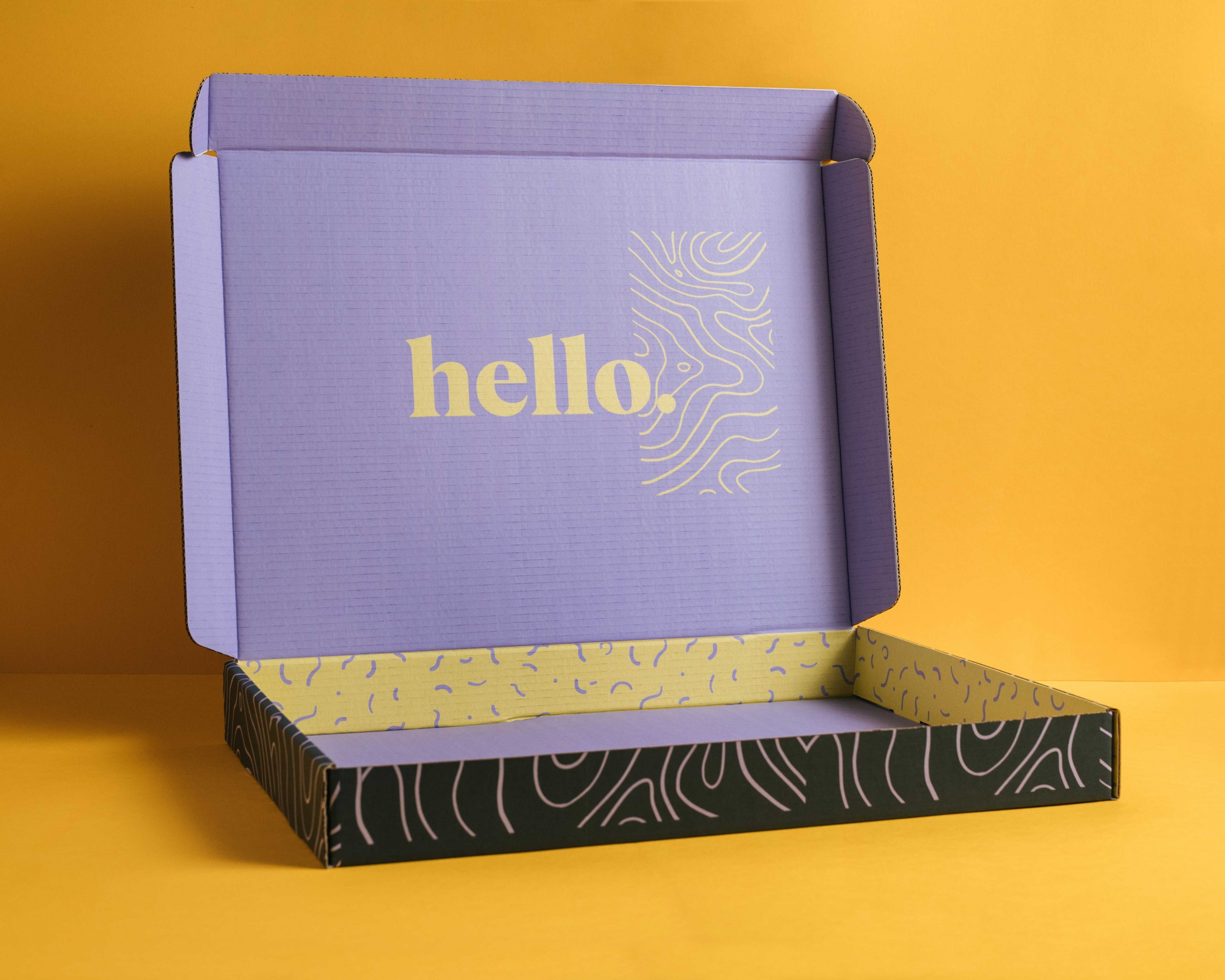 Digital Self Folding Box Inside
